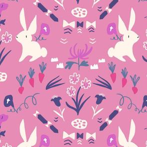 Folk Bunny pink