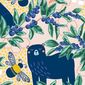 Blue-bear-y Bees
