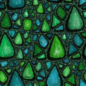 Dragon Skin Crystals Green