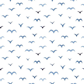 Abstract Minimal Bird Pattern