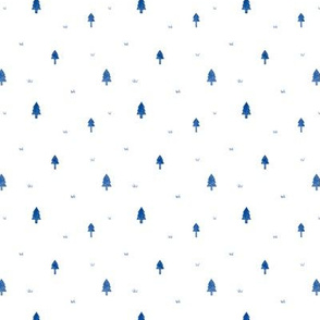Minimal Forest in Blue