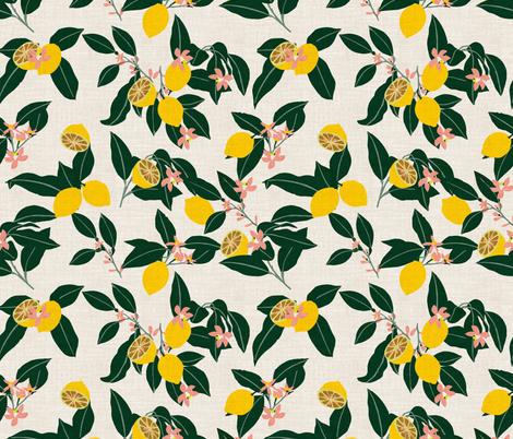 LEMONNY fabric by holli_zollinger on Spoonflower - custom fabric