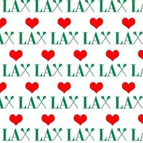 _Heart Lacrosse Green