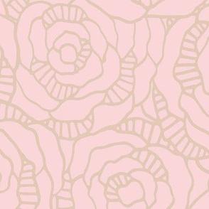 Modern Blossom - Blush - Large