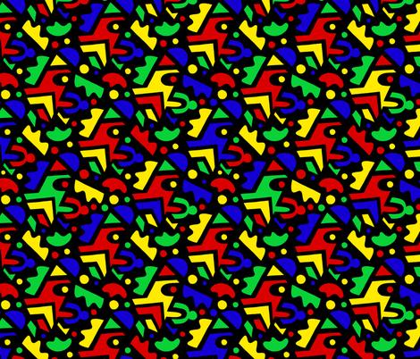 paper pop fabric by esobeecraft on Spoonflower - custom fabric