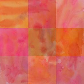 Nine Patch Orange