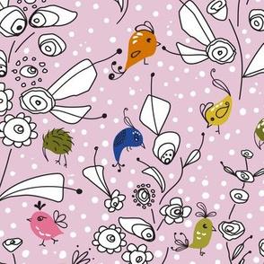 Bye Bye Birdie-Pink