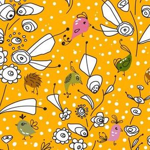 Bye Bye Birdie-Yellow