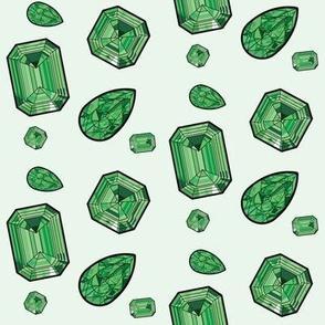 Raining Emeralds