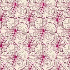 Hibiscus x Japan Redline