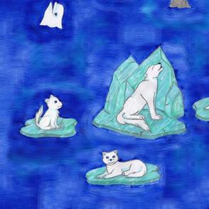 Arctic Animals On Ice 2:1