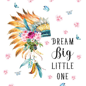 "42""x72"" Dream Big Little One  Spring Headdress"