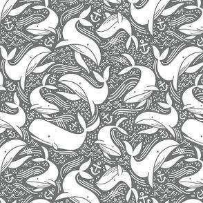 Whale No. 2 - Grey