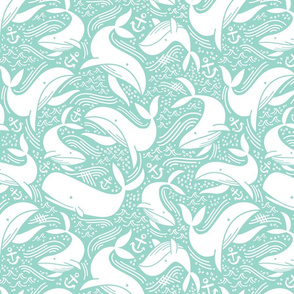 Whale No. 2 - Mint