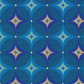 vintage mod//blue