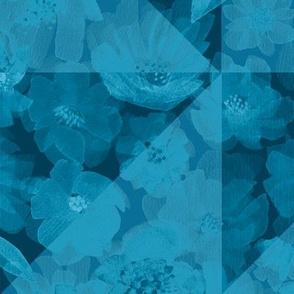 Around the World Geometrics - Blue