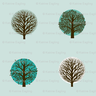 neutral seasons- turquoise