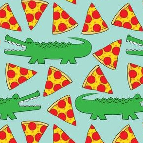 gators-and-pizza on teal
