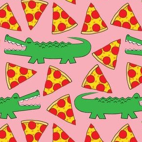 gators-and-pizza on pink
