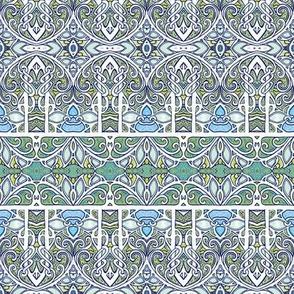 Medieval Window Pane Blues