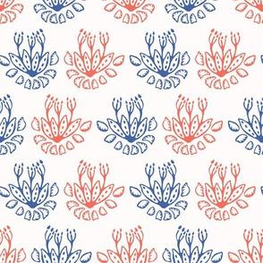 Flowering Plant Seamless Pattern