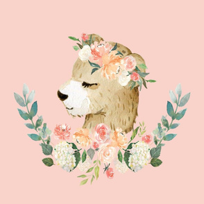 bear with a floral crown 6 loveys