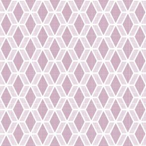 Diamond Hex   Pink (md)