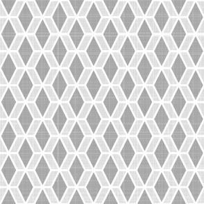 Diamond Hex   Gray (md)
