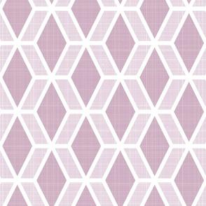 Diamond Hex   Pink (lg)