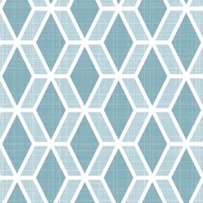 Diamond Hex   Blue (lg)