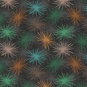 Cook's Pine Needles on Dark Grey - Small