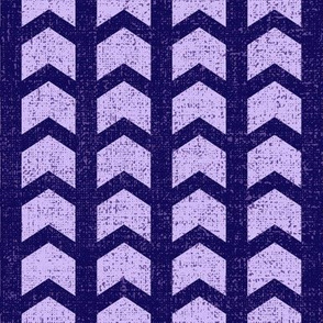 Floral Woodland Purple Arrow 02