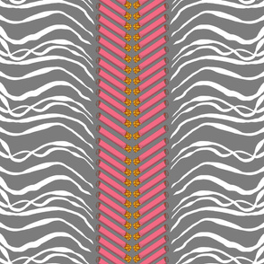 cigarettes and smoke chevron pink and grey