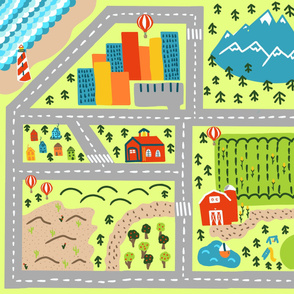 welcome to the world playmat
