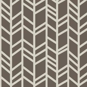 Herringbone - taupe