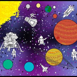 space playmat