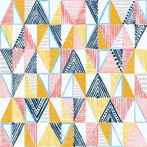 """Abstract Nautical Flags 12"""""""