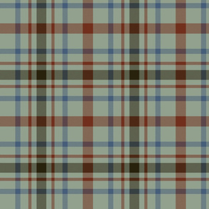 "MacDonagh tartan - 8"" campbell chief colors"