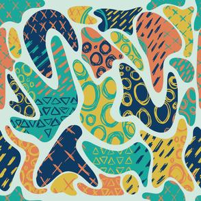 90s Amoeba - Repeat - Full Color