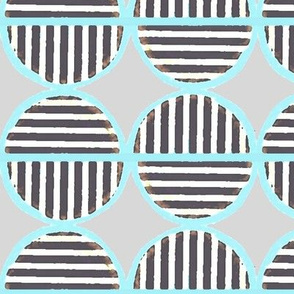 striped circles