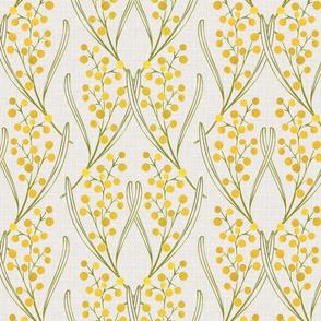 Art Nouveau Golden Wattle