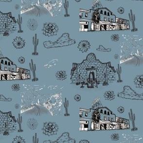 Tucson Toile Blue