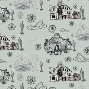 Tucson Toile Grey