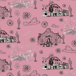 Tucson Toile Pink