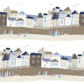 Cornish seaside town
