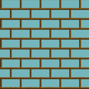 Neoclassical Frame Bricks ~ Eluned with Bronze
