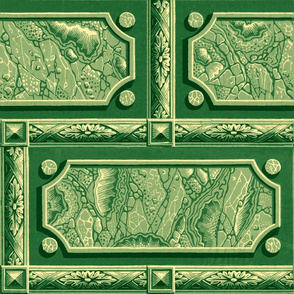 Neoclassical Marble Panels ~ Emerald