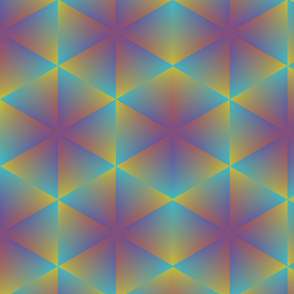 tie dye abstract gradient triangles