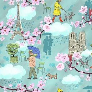 April Showers in Paris