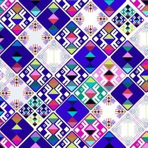 Bhutanese Tibetan Woven Textile Design -